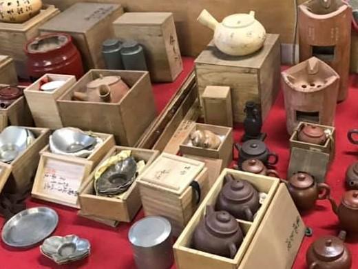 煎茶道具買取 茶托